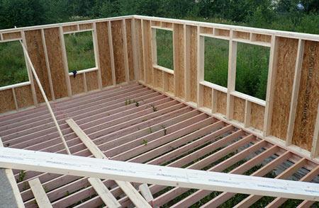 Как построить каркасный дом своими руками пошаговая...