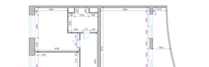 How To Draw An Apartment Project Yourself. Design Of Apartment Projects:  Correct Composition