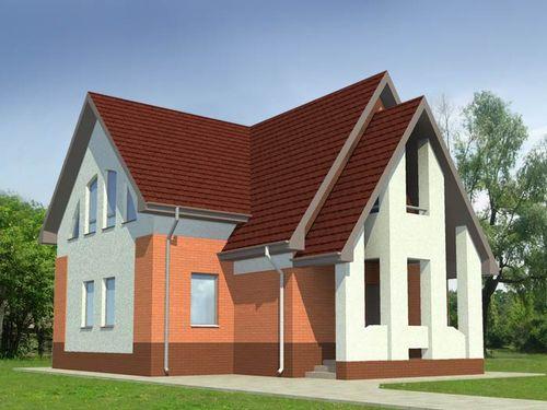 10X10 ház tető hány négyzetméter