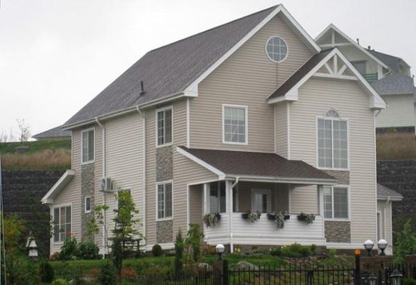 لون لواجهة المنزل ما اللون الذي تختاره لطلاء المنزل