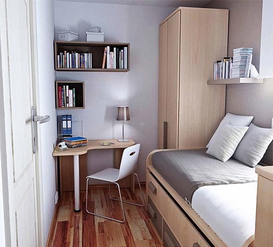 Tempat Tidur Dengan Sistem Penyimpanan Bersepadu Di Bahagian Bawah Akan Membolehkan Anda Meninggalkan Bilik Persalinan Atau Juga Almari Linen Kecil