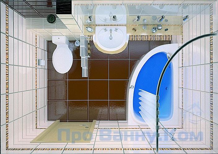 53e8d784a0 A szoba kialakítása elé tudja tenni a jobb kérdést: a fürdőszoba tervezése,  WC-vel kombinálva vagy külön-külön.