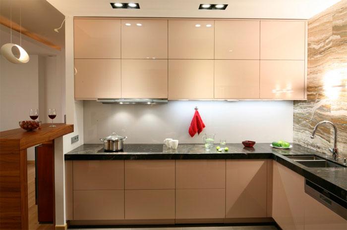 белая угловая кухня особенности дизайна и настроения дизайн красно