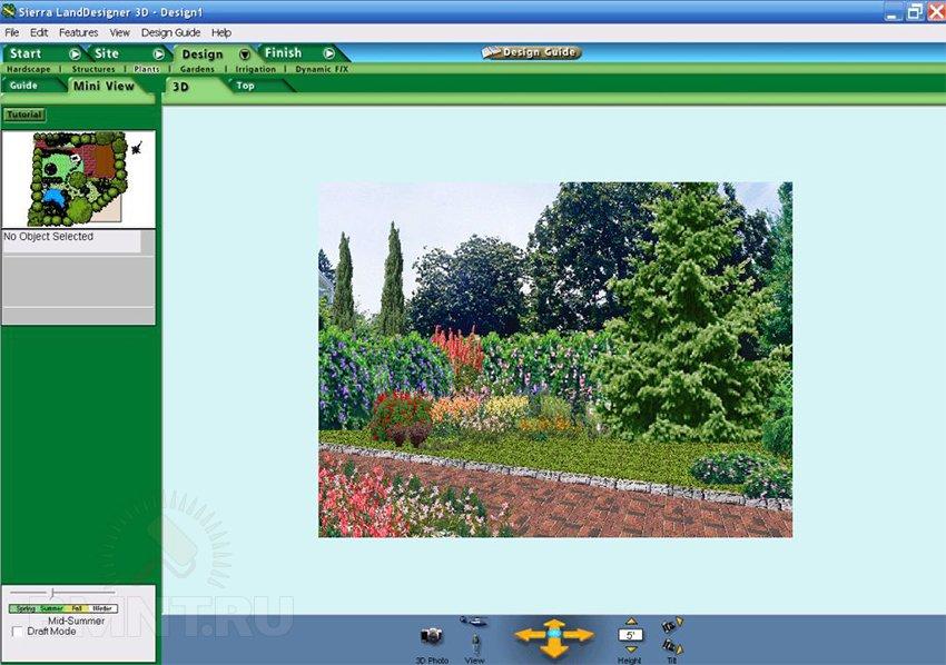 Программа для построения ландшафтного дизайна скачать бесплатно