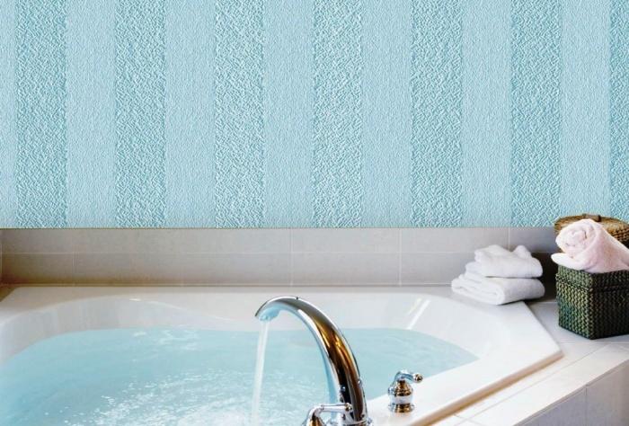 Ini Adalah Pilihan Yang Paling Sesuai Untuk Menampal Bilik Mandi Dan Mana Lain Di Dalam Rumah Kerana Wallpaper Tahan Air