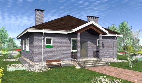 10X10 ház tető