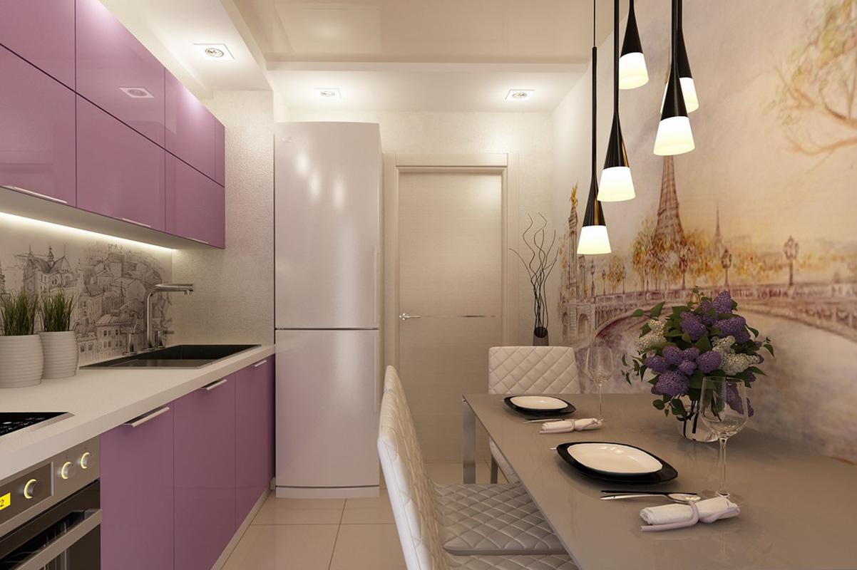 фото кухни в квартире 9 кв м