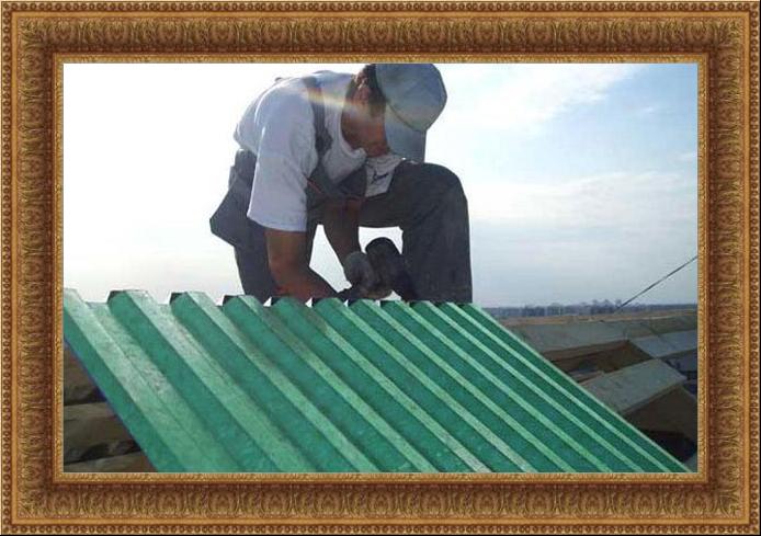 Монтаж профнастила с замком на крышу своими руками фото и видео-инструкция 27