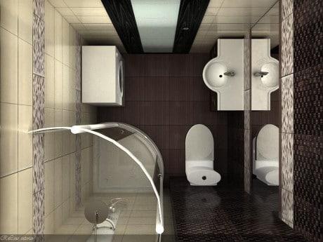 bár fürdőszoba összekapcsolás