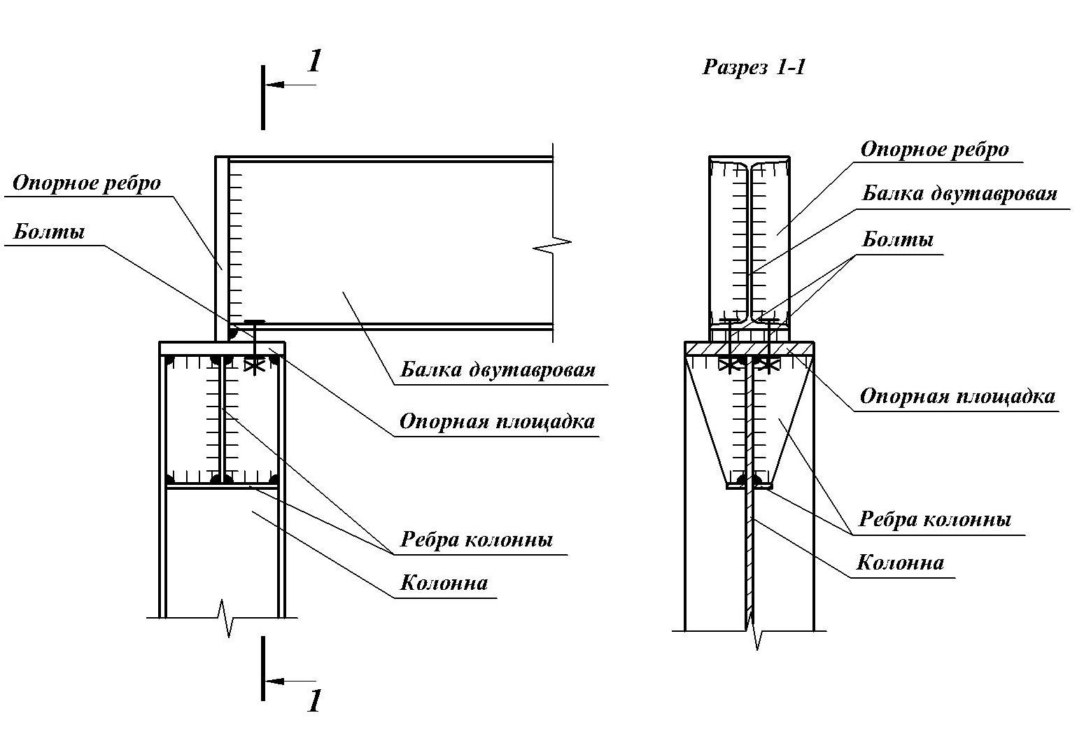 Крепление деревянных балок перекрытия металлическими опорными подвесками