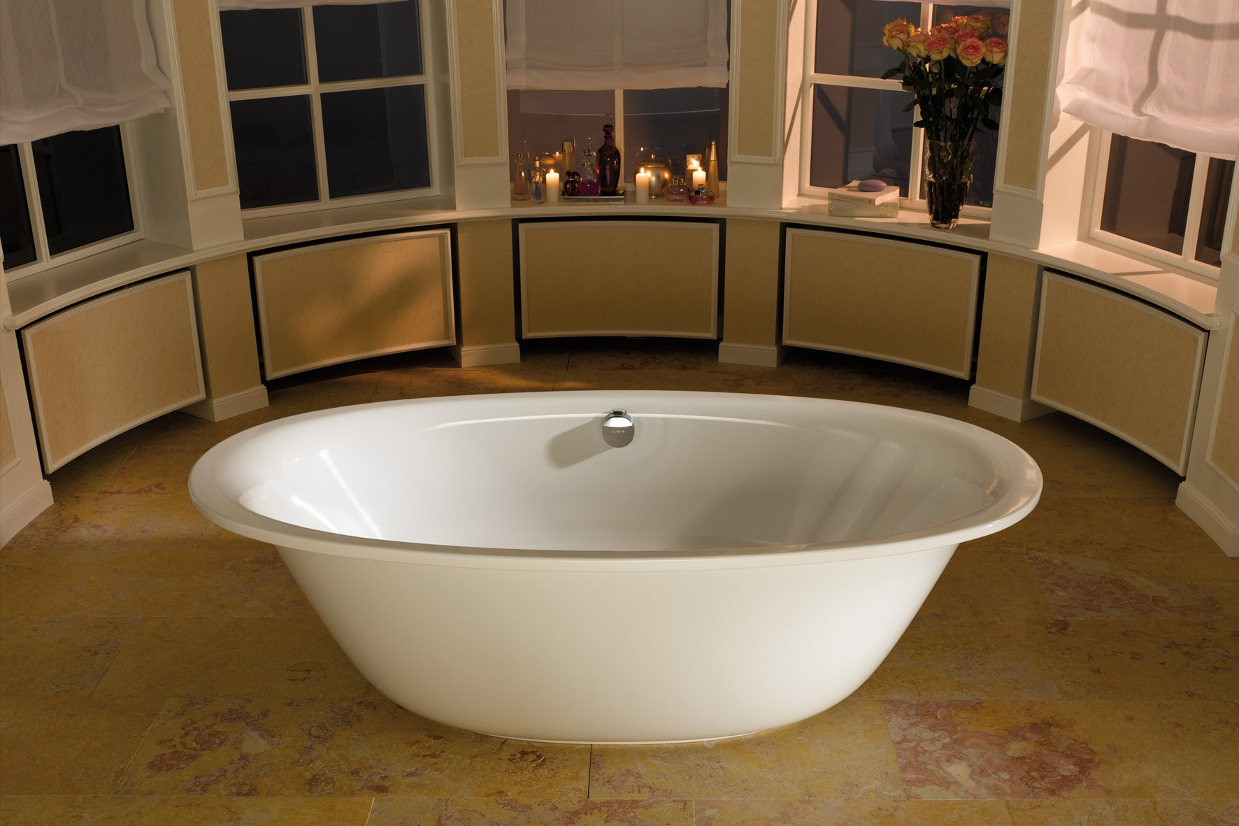 Types of acrylic bathtubs. On supporting structures. How to choose ...